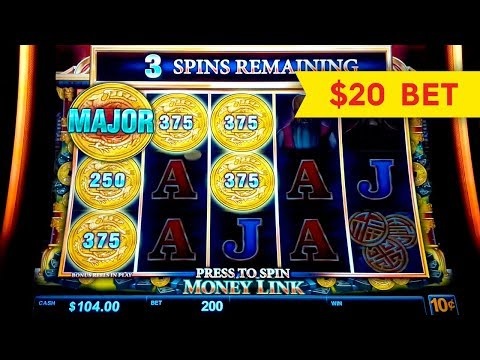 HIGH LIMIT ACTION! Money Link The Great Immortals Slot! - 동영상