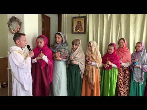Пасхальный праздник в Троицком соборе г. Щелково. Видео 2