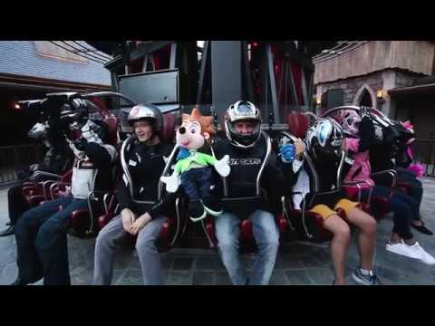 Making of : Drone Racer Vs Roller Coaster / Nigloland