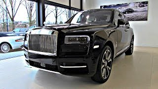 Rolls Royce Cullinan 2019 NEW FULL Review Interior Exterior Infotainment