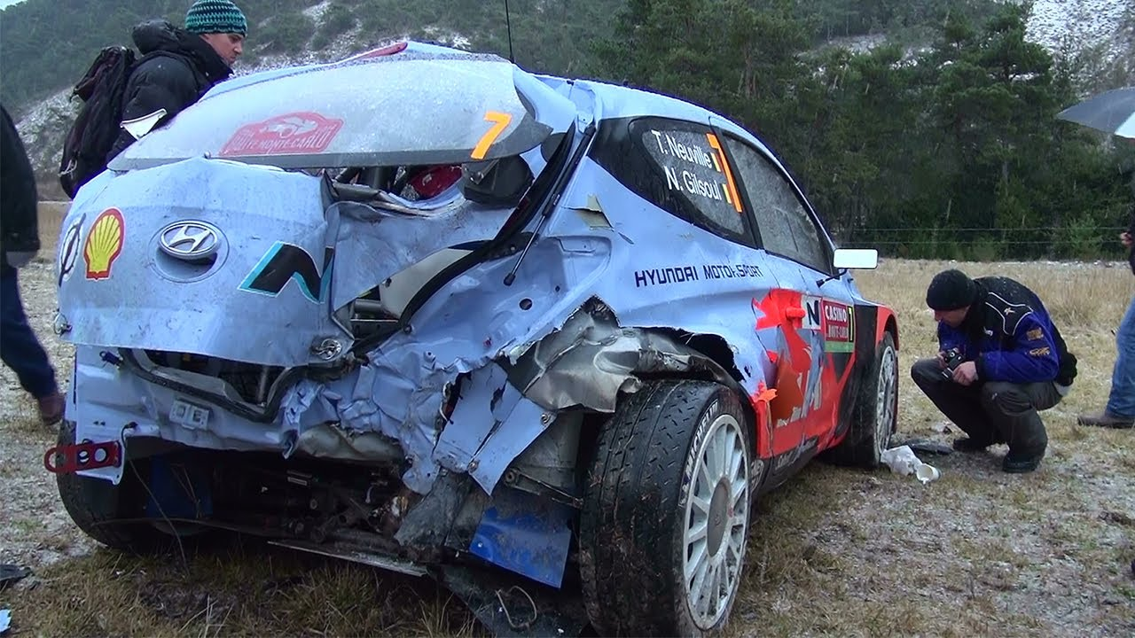 Rally Car Crashes On Youtube