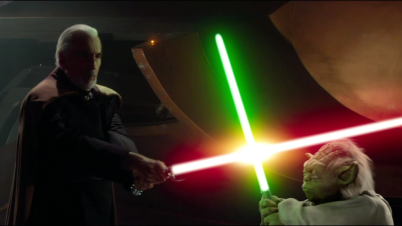 Image result for yoda vs dooku