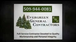 Evergreen General Contractors Construction Company Spokane Washington