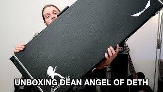 UNBOXING DEAN ANGEL OF DETH GUITAR