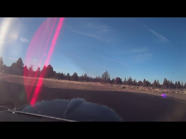 Arrival and Departure from 5S5. Lake Billy Chinook State Airport Oregon