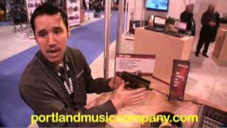 tascam dr 07 and dp 004 namm 2009 portland music company
