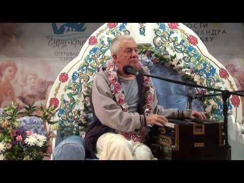 Киртан Чайтанья Чандра Чаран прабху - Гуру - крипа 2018. Маха - киртан на открытии фестиваля