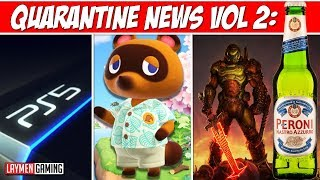 Ps5 Revealed Tomorrow- Animal Crossing + Doom Reviews - Witcher S2 Delayed Q-news
