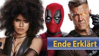 Deadpool 2 Ende und Post Credit Szene erklärt