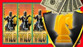 ***HIGH LIMIT*** Black Knight Slot Machine Bonuses & LIVE PLAY With SDGuy