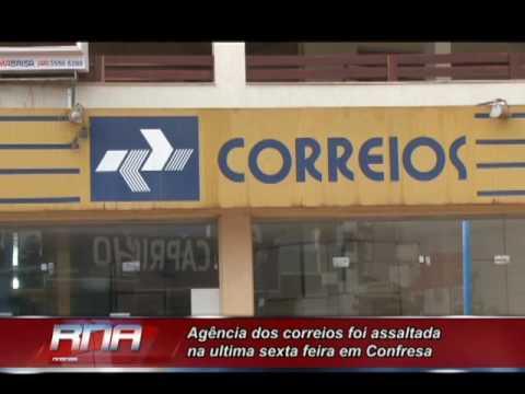 Agência dos correios é assaltada nesta manhã em Confresa