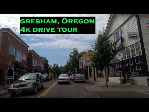 Gresham, Oregon   4k Driving Tour