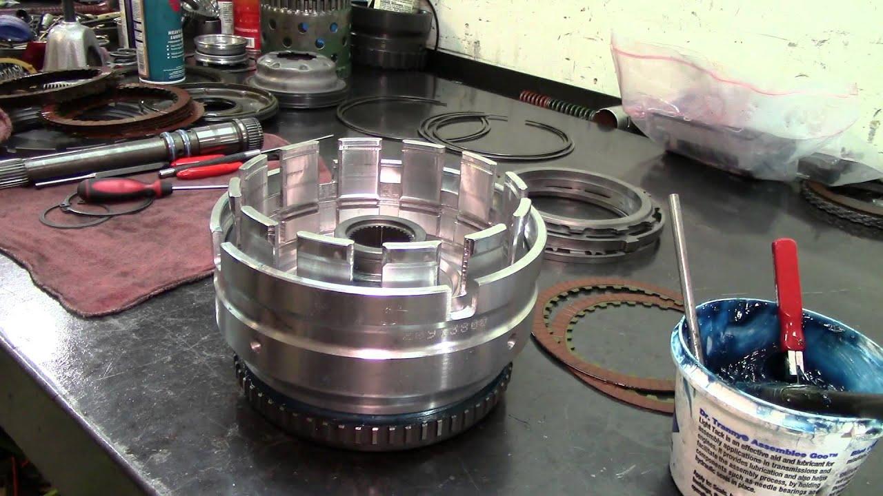 68RFE Transmission - Input Drum Assembly