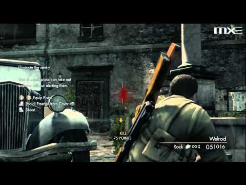 Sniper Elite V2 - First 10 Minutes Of Gameplay HD