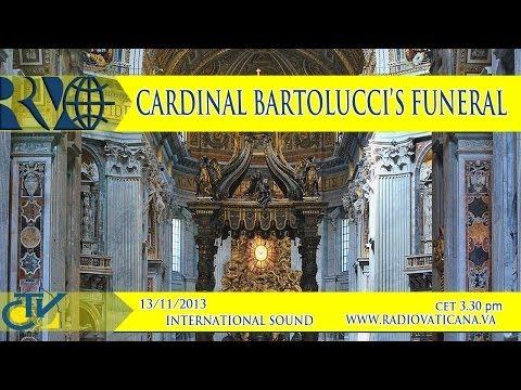 Funeral of Cardinal Domenico Bartolucci - Funerali del Card. Domenico Bartolucci