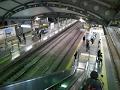 夜のひばりヶ丘駅 改札口からホームまで Hibarigaoka Station 170113