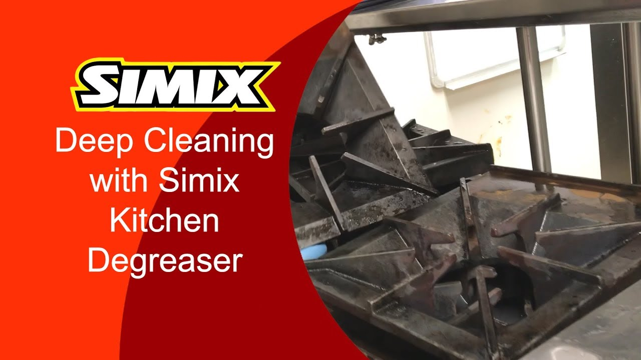 Deep Cleaning a Commercial Kitchen with Simix Multi-Surface Kitchen  Degreaser