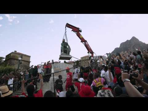 Rhodes Statue Removed