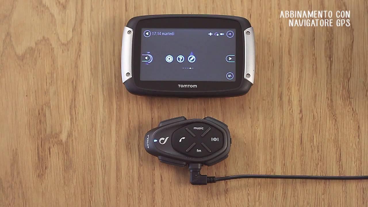 Come abbinare Interphone al navigatore GPS