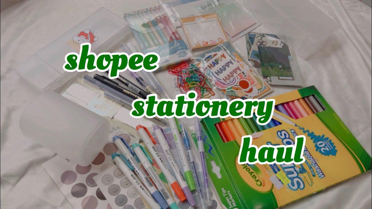 #1 Shopee stationery haul | from Vietnam