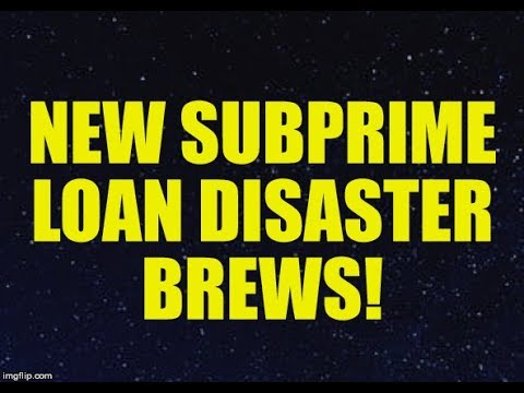 NEW SUBPRIME LOAN DISASTER BREWS, ECONOMY CRASHES WITHOUT BANK RESCUE, CREDIT CARD DEFAULTS RISE