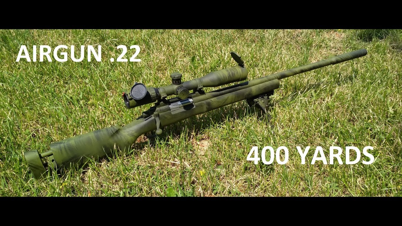 Introduction M24 Airgun and 400 Yards shoting - YouTube