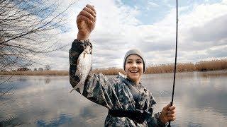 Первые РЫБЫ - ФИДЕР для начинающих - часть 2   Рыбалка с сыном - ловля плотвы весной