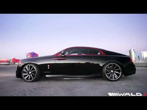 WALD Rolls Royce Wraith Black Bison Edition - World's First