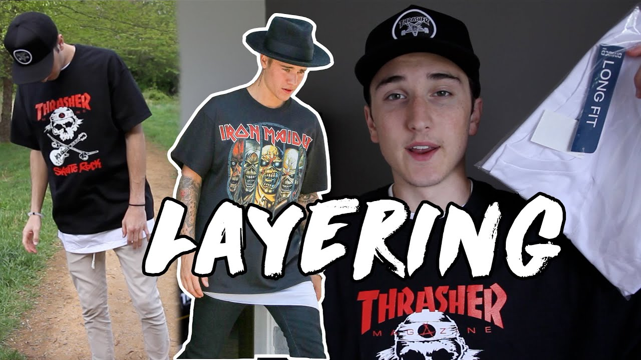 981e4864c How To Layer Clothing Like Justin Bieber (Fear Of God) - YouTube