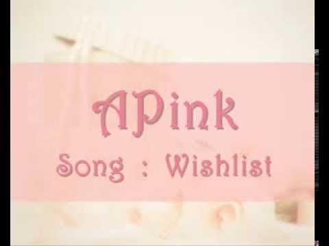 Apink - Wishlist  Karaoke (by minkey)