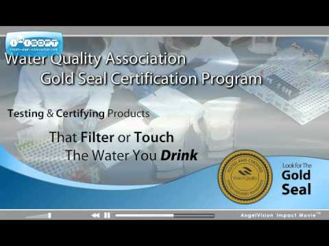 WQA Water Quality Association Gold Seal Product ...