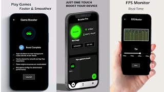 Game Booster - Game At Speed GFX Tool Lag Fix Android 2021 screenshot 4