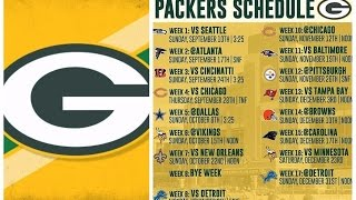 PACKERS 2017 RECORD PREDICTION