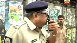 ACP heckled by TMC workers at Cossipore, Central forces were kept inactive