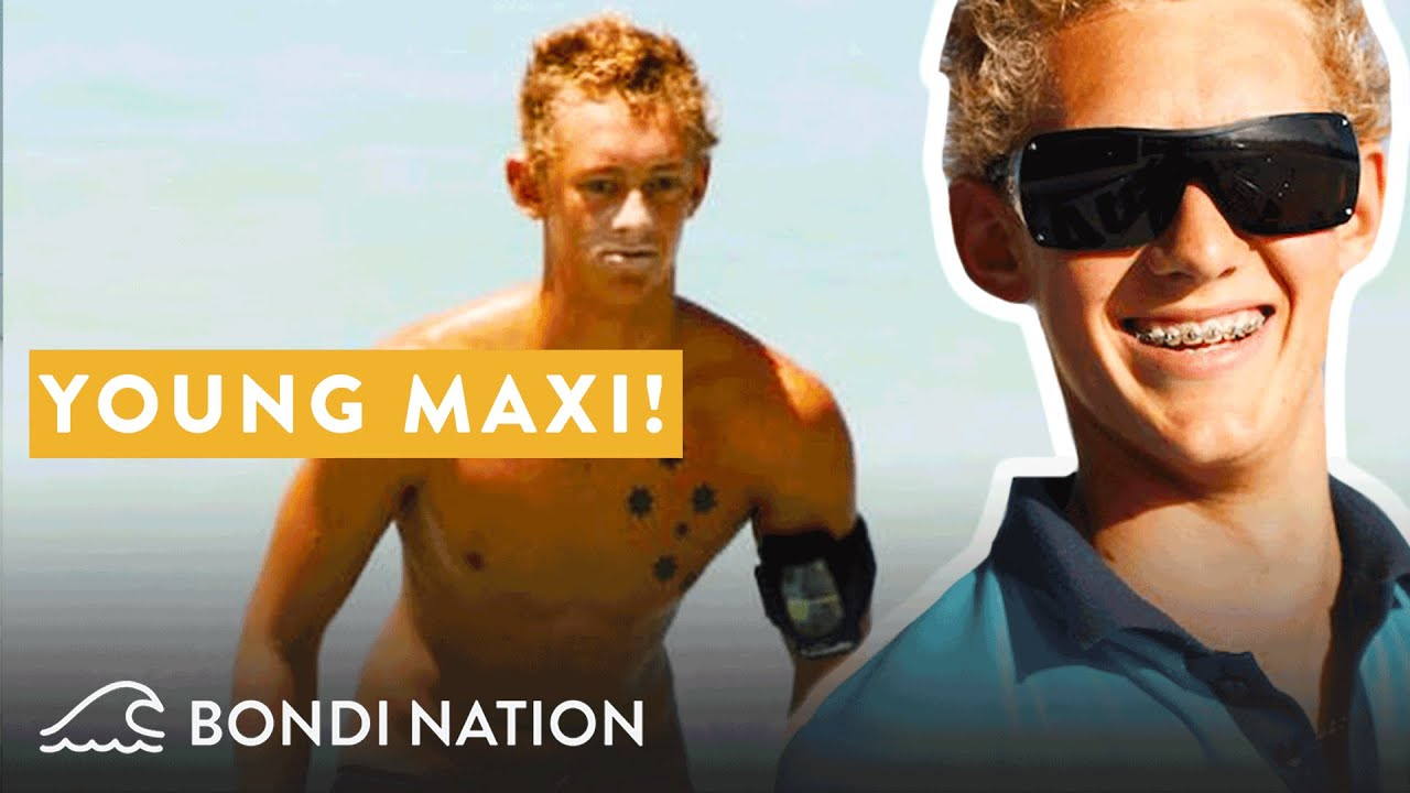 Maxi the Youngest Bondi Lifeguard Trainee