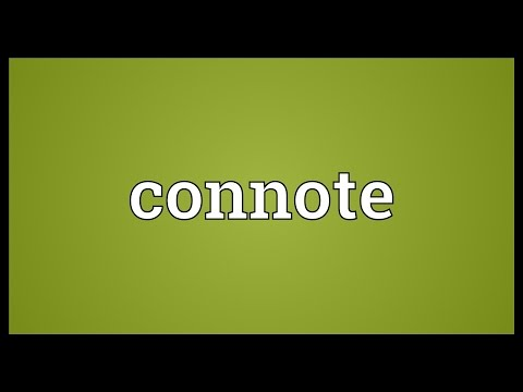 Header of connote