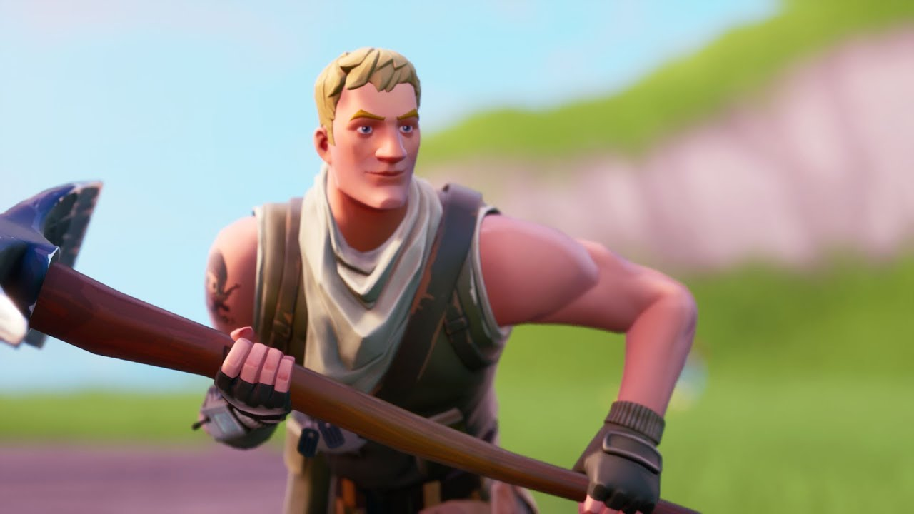 I pretended to be a noob in Fortnite random duos! - YouTube