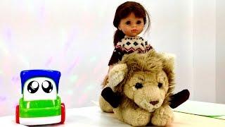 Учим английский язык с Мэри! Развивающее видео - английский для детей! Учим животных - лев!(Развивающее видео для деток - Учим английский язык с Мэри! Мэри и Грузовичок пришли на новое занятие английс..., 2015-03-12T12:03:54.000Z)