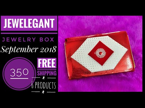 jewelegant-box-september-2018-|350+-free-shipping-|personalized-|try-on-and-review
