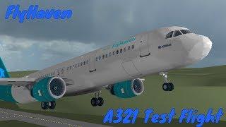 ROBLOX   FlyHaven A321 Flight