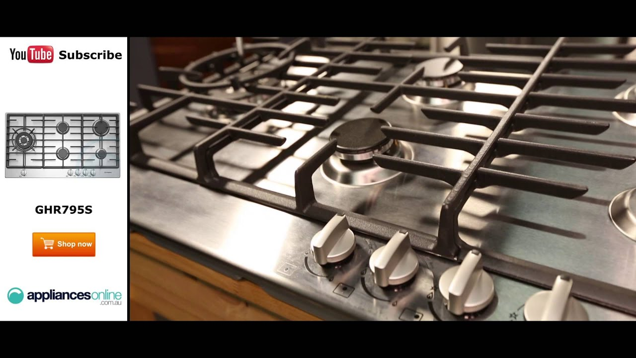 Westinghouse Gas Cooktop GHR795S Reviewed By Product Expert   Appliances  Online
