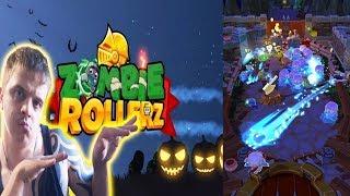 ИСПЫТЫВАЕМ В ДЕЙСТВИИ НОВЫЙ ПИНБОЛ С ЗОМБИ ► Zombie Rollerz ►Обзор,Первый взгляд,Геймплей,Gameplay