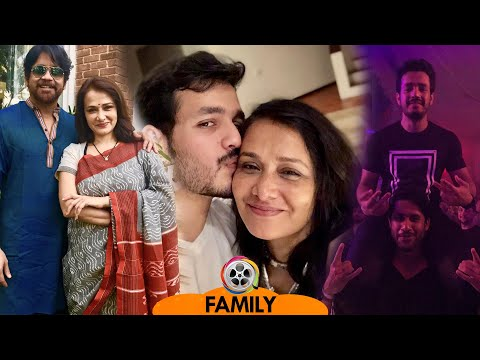 Amala Akkineni Family Photos With Husband Nagarjuna, Sons Akhil, Naga Chaitanya