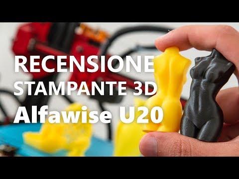 Recensione stampante 3D Alfawise U20 da 260€