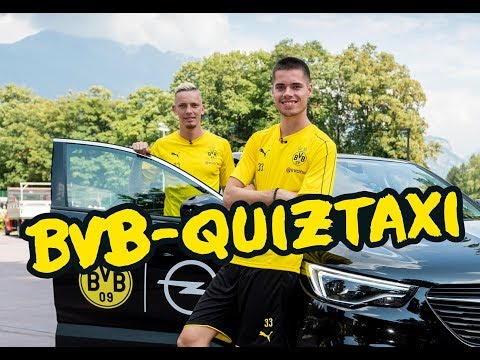 BVB Quiztaxi in Bad Ragaz 2018 - Part 2 w/ Reus/Götze, Weigl/Wolf & Pulisic/Delaney