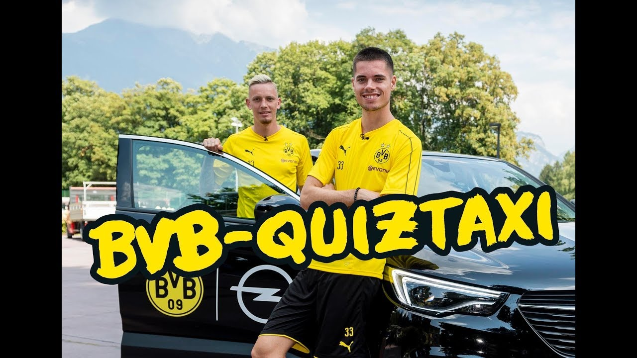 BVB-Quiztaxi in Bad Ragaz 2018 | Teil 2 mit Reus/Götze, Weigl/Wolf & Pulisic/Delaney