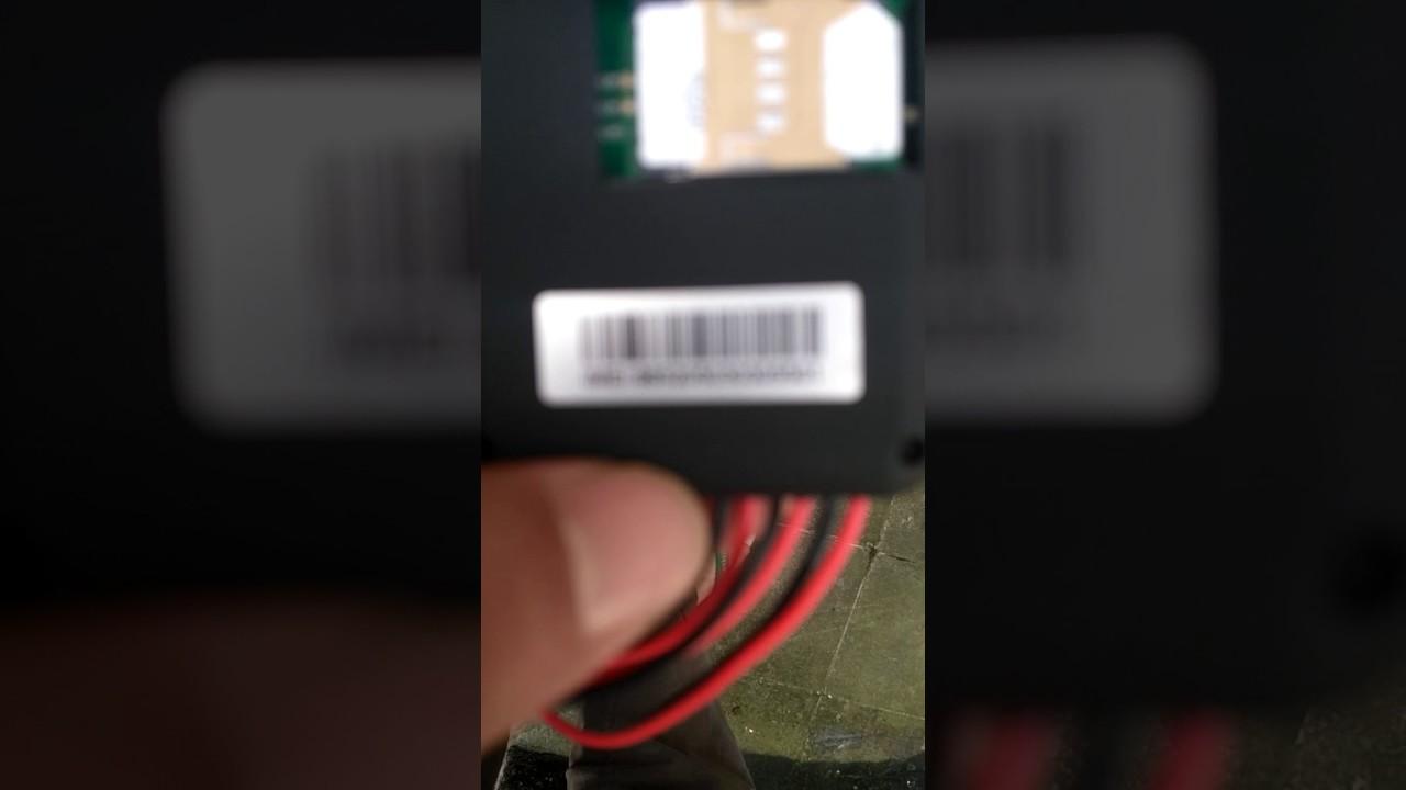 Gps tracker cut off engine sadap suara GT06 - YouTube