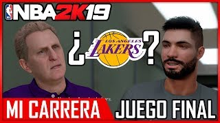 NBA 2K19 MI CARRERA - ¿FICHO POR LAKERS? - AIRCRISS #6
