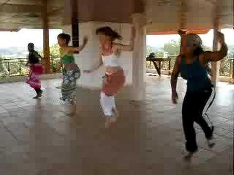 guinea dance lesson #4- rehearsing for Doundounba