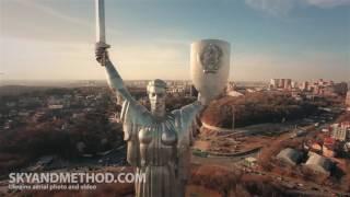 Киев, съемка с квадрокоптера обзорной экскурсии
